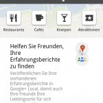 Screenshot Google+ Local