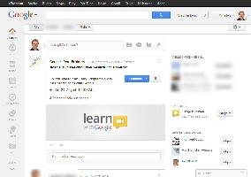 Google+ Screenshot bei Standard-Breite