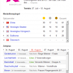 Screenshot www.google.at - Suche nach 'Olympia'