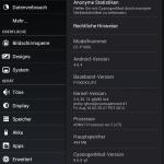 Cyanogenmod 9 Einstellungen