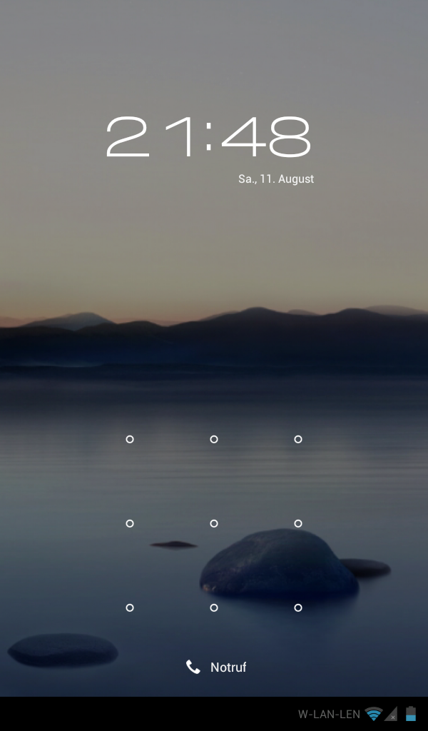 Cyanogenmod 9 Lockscreen