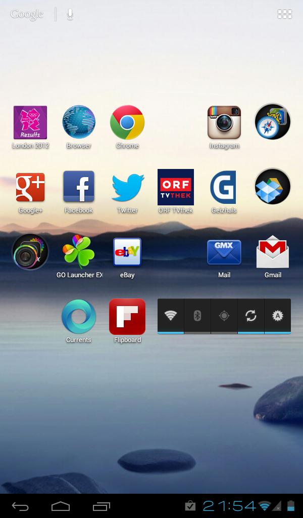 Cyanogenmod 9 mit Trebuchet-Launcher