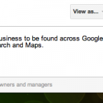 Screen Shot 03.08.2012 von Google+ Your Business