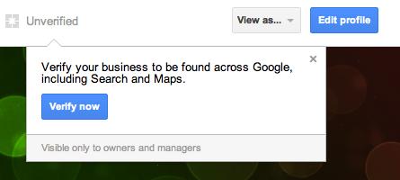 Screen Shot 03.08.2012 von Google+ Your Business