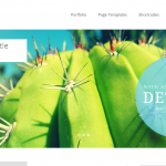 Screenshot Baylys Wordpress-Theme von Elmastudio