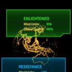 """Die """"Enlightened"""" wollen die Kontrolle über die Menschheit erreichen; die """"Resistance"""" den Einfluss der unbekannten Energie eindämmen. - """"Gut und Böse"""" sind aber absichtlich nie klar deklariert!"""