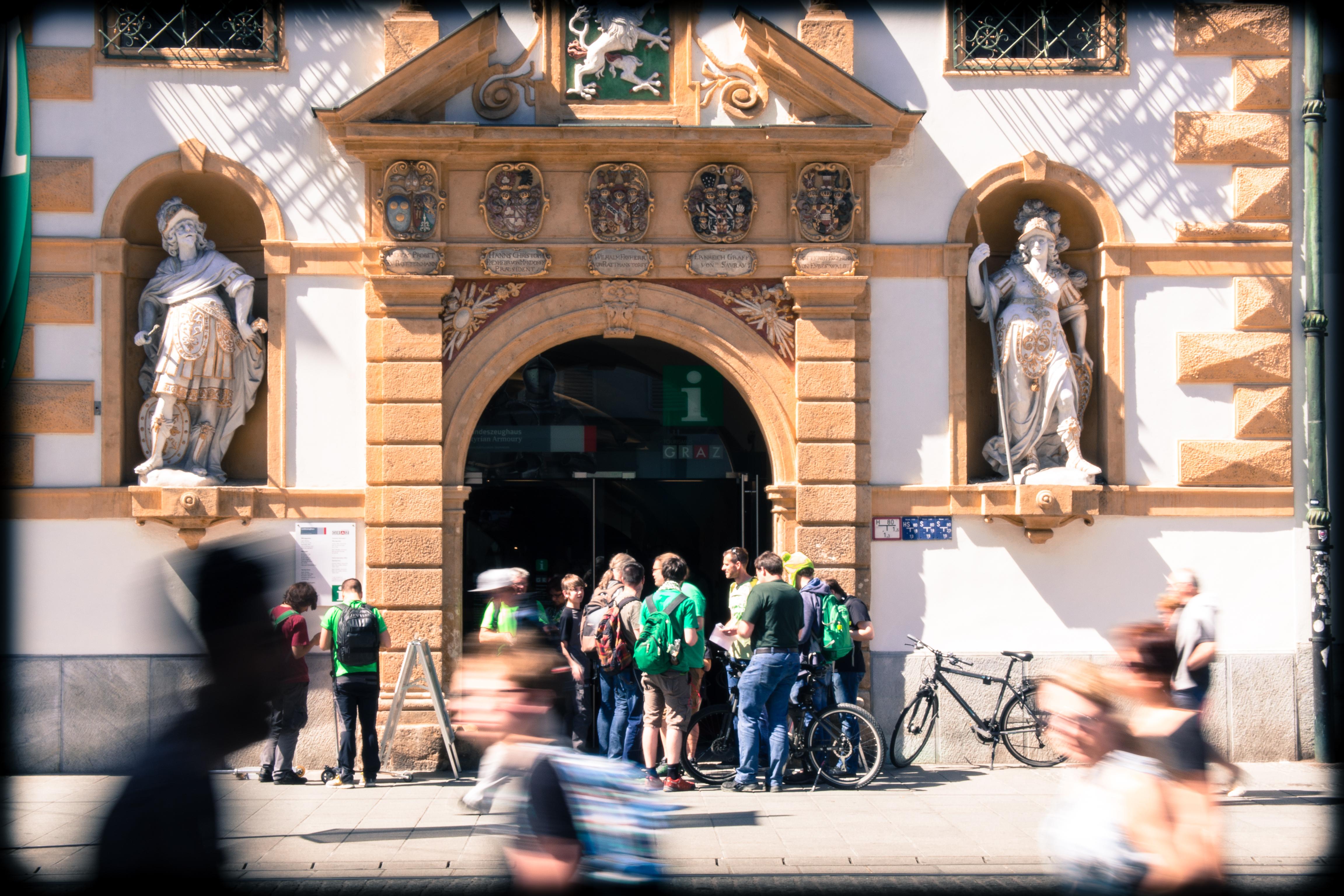Treffpunkt Graz Tourismus Information - Foto: http://amne.sieht.at