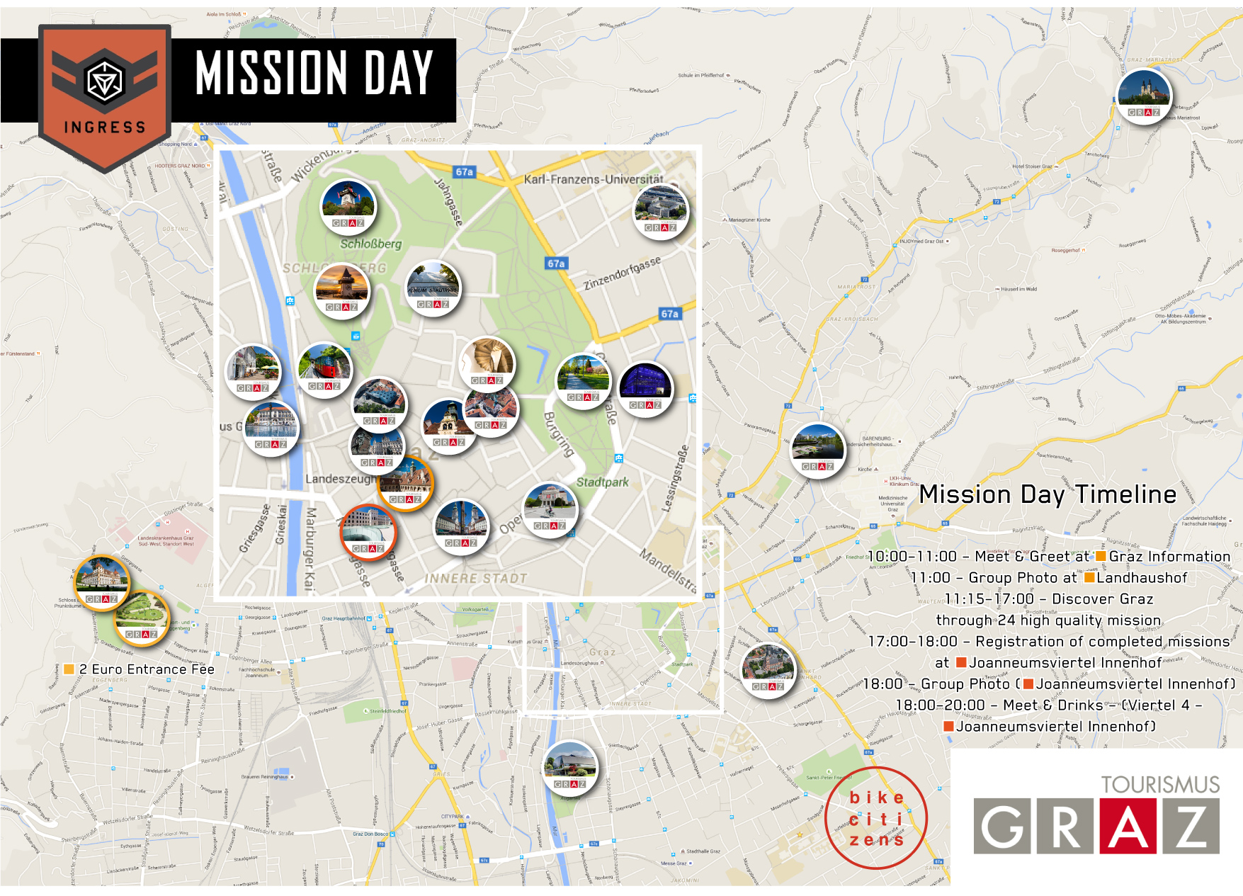 Mission Day Graz Map