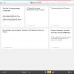 Pocket - Artikel-Übersicht im Browser
